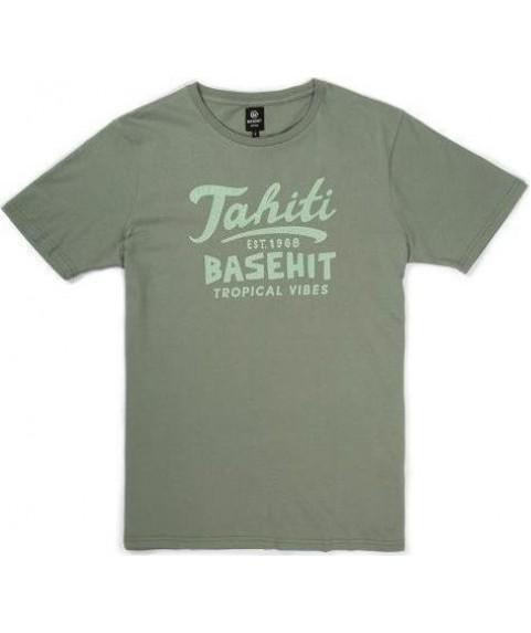 Basehit Ανδρική κοντομάνικη μπλούζα φυστική 191.BM33.65 Pistachio