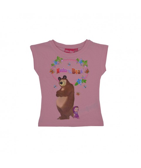 Παιδικό T-shirt Masha and the Bear Ροζ 380240-03