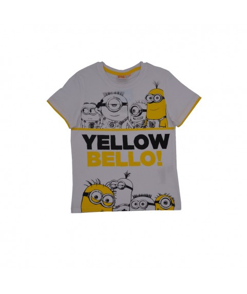 Παιδικό T-shirt ''Minion Bello'' Λευκό 380240-21