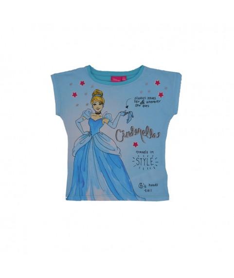 Παιδικό T-shirt ''Disney Cinderella'' γαλάζιο 380240-18