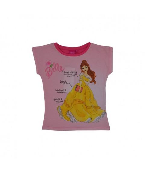 Παιδικό T-shirt ''Disney Belle'' ροζ 380240-16