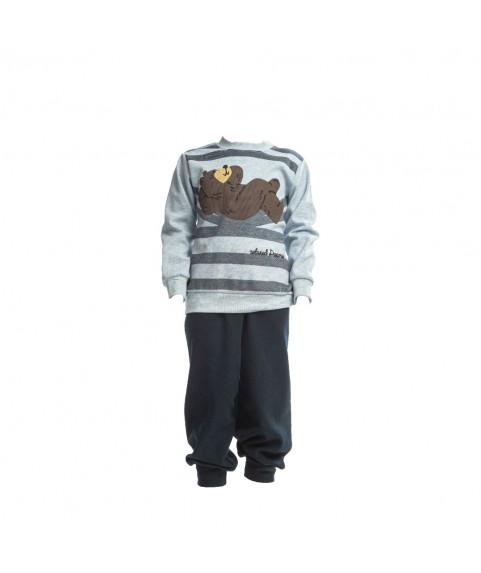 Παιδική Πιτζάμα Χειμωνιάτικη Dreams για Αγόρι Γαλάζια-Μπλέ 217310-01
