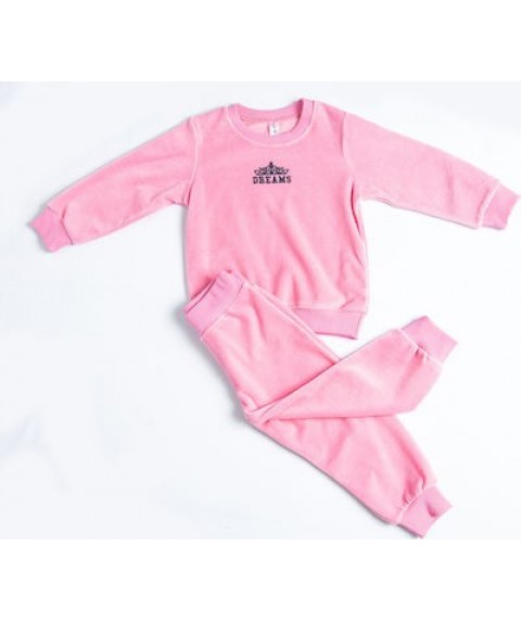 Παιδική Πιτζάμα Χειμωνιάτικη για Κορίτσι Dreams Ροζ 217102-02