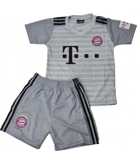 Παιδικό Σετ Ποδοσφαίρου Bayern-Neuer Γκρί 7401