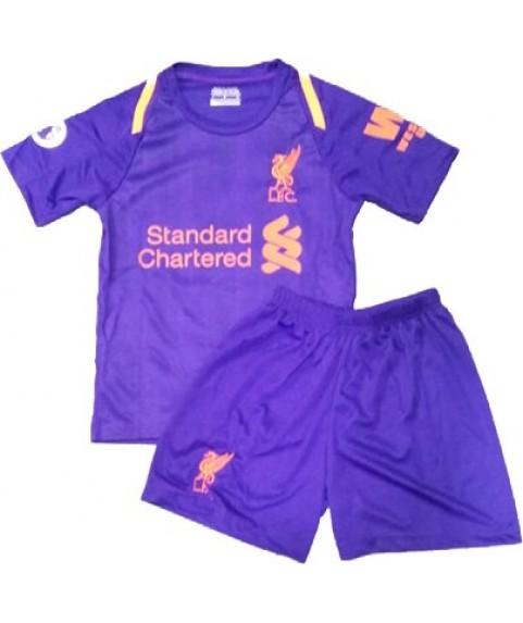 Παιδικό Σετ Ποδοσφαίρου Liverpool-M.Salah Μωβ 7505
