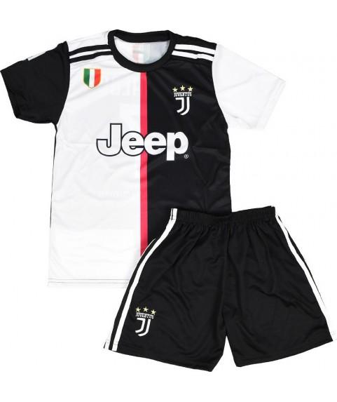 Παιδικό Σετ Ποδοσφαίρου Juventus-Ronaldo Μαύρο 7202