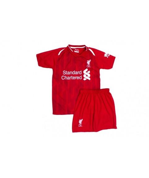 Παιδικό Σετ Ποδοσφαίρου Liverpool-M.Salah Κόκκινο Polo 7506