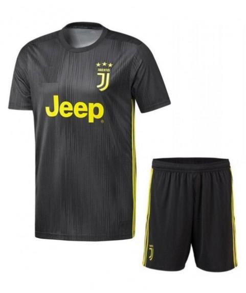 Παιδικό Σετ Ποδοσφαίρου Juventus-Ronaldo Γκρι-Κιτρινο 7208