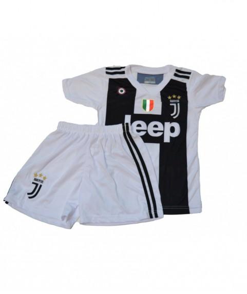 Παιδικό Σετ Ποδοσφαίρου Juventus-Dybala Λευκό Μαύρο Σημαια 7210