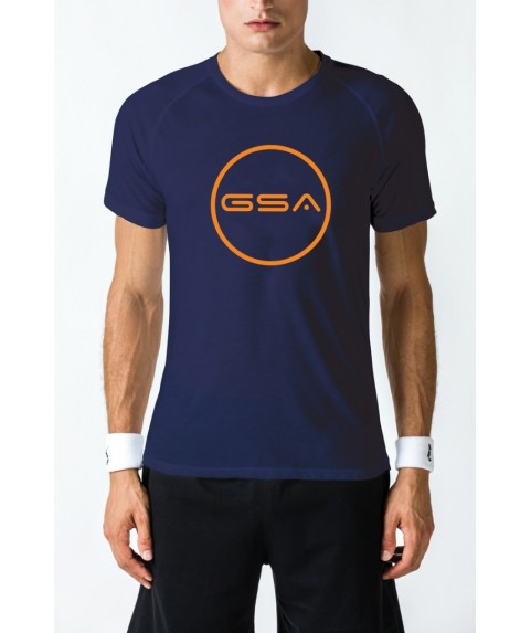 T-SHIRT MEN CIRCLE SUPERLOGO COLOR EDITION INK GSA GEAR