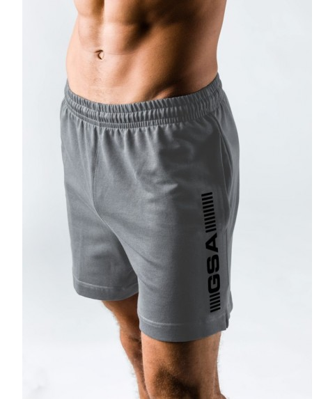 GSA SUPERLOGO ACTIVE 4/4 SHORTS  ΓΚΡΙ 17-19062-02