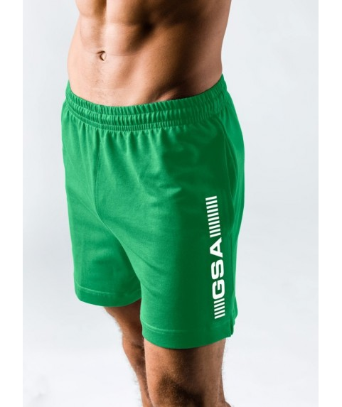 GSA SUPERLOGO ACTIVE 4/4 SHORTS  ΠΡΑΣΙΝΟ 17-19062-03