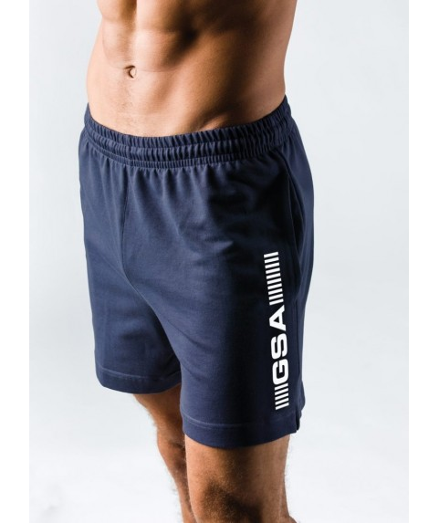 GSA SUPERLOGO ACTIVE 4/4 SHORTS ΜΠΛΕ ΣΚΟΥΡΟ 17-19062-04