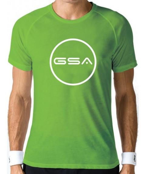 T-SHIRT MEN FLAG SUPERLOGO COLOR EDITION ( GREEN) GSA GEAR 17-19037-02