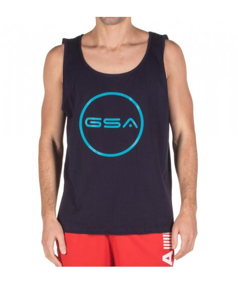 TANK TOP MAN SUPERLOGO COLOR EDITION CIRCLE ( INK ) GSA 17-19042-01