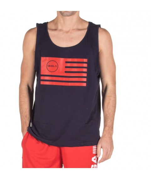 TANK TOP MAN SUPERLOGO COLOR EDITION FLAG ( INK ) GSA 17-19042-02