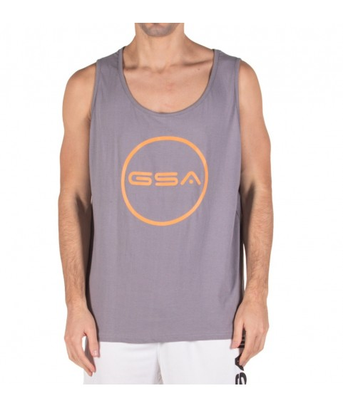 TANK TOP MAN SUPERLOGO COLOR EDITION CIRCLE ( GREY ) GSA 17-19043-01
