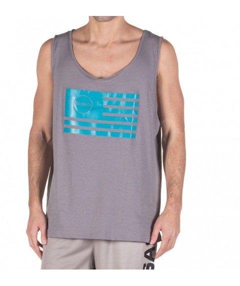 TANK TOP MAN SUPERLOGO COLOR EDITION FLAG ( GREY ) GSA 17-19043-02