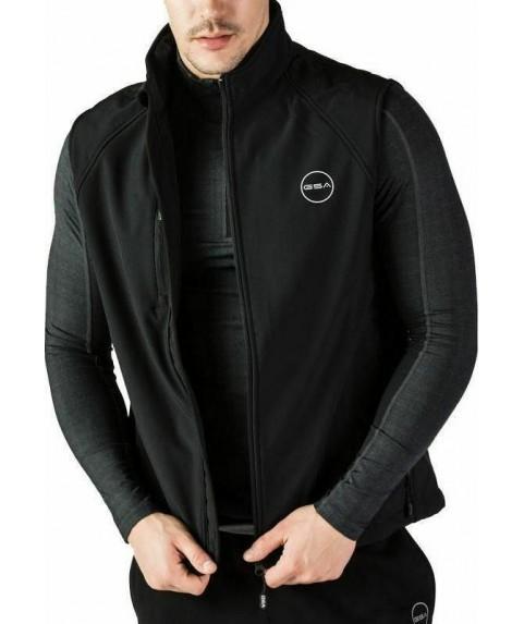 GSA Heat Softshell Vest - 1718121-01 Αμάνικο Μαύρο