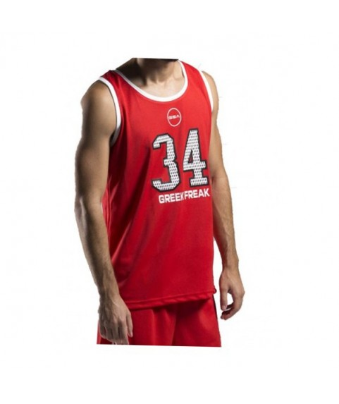 GSA GREEK FREAK Tank Top Red 34-18003-03