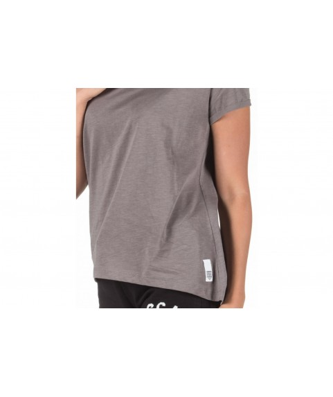 GLORY & HERITAGE Loose V-neck Charcoal