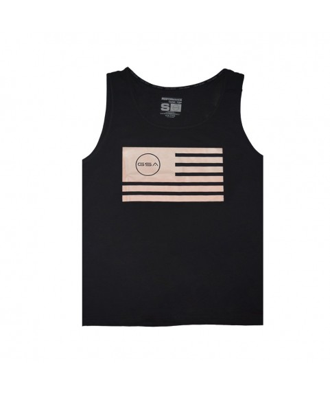 TANK TOP MAN SUPERLOGO COLOR EDITION FLAG BLACK/PINK GSA (3+1 free )