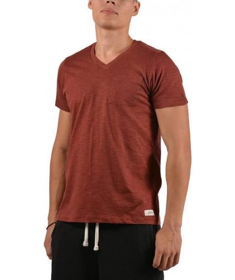 Jepa T-Shirt V-Neck With Pocket Bordeaux 891719