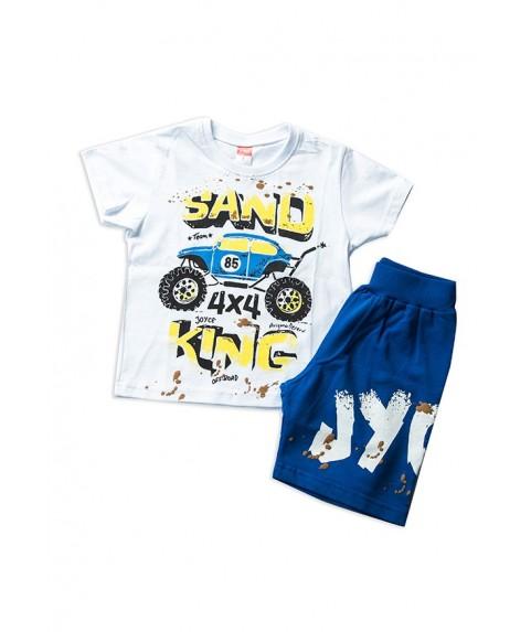 Παιδικό Σετ joyce Λευκό/Μπλε για Αγόρι 201263-1