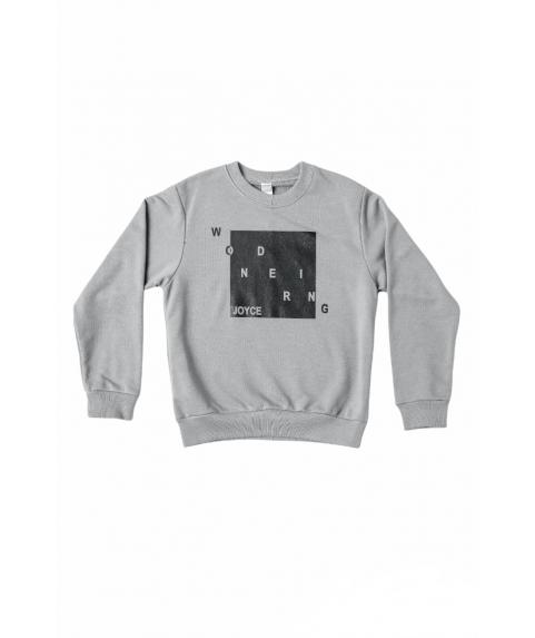 Παιδική Χειμερινή Μπλούζα Μακρυμάνικη Joyce για Αγόρι Μαύρη 216767-01