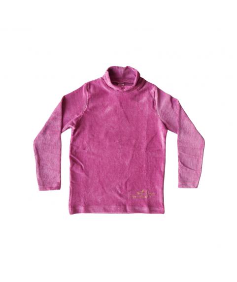 Παiδική Μπλούζα Για Κορίτσι Κοτλέ Ρόζ Σάπιο Μήλο 216586-01