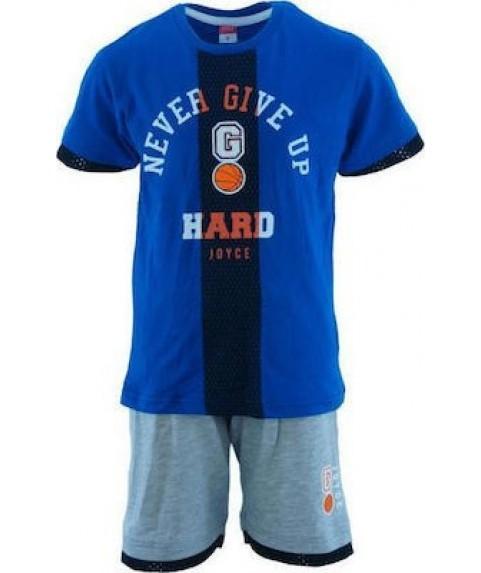 Παιδικό Σετ joyce Γκρι/Μπλε για Αγόρι 201264
