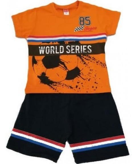Παιδικό Σετ joyce Μπλε/Πορτοκαλί για Αγόρι 201240