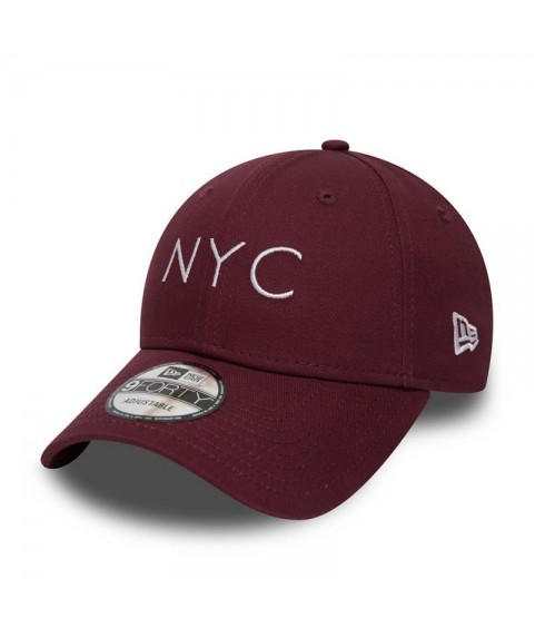 New Era Essential 9Forty Strapback Dark Red