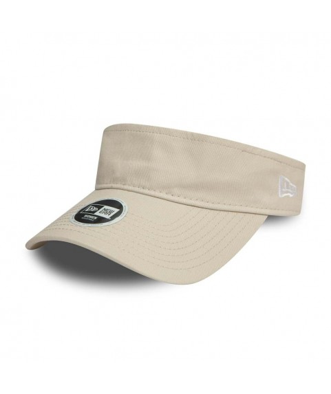 New Era Essential Visor Cap Stone/Otic White