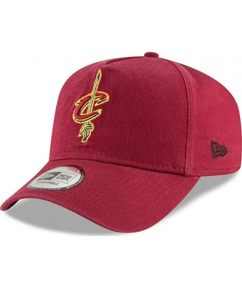 New Era Cap Cleveland Cavaliers Washed A Frame Trucker  80635997