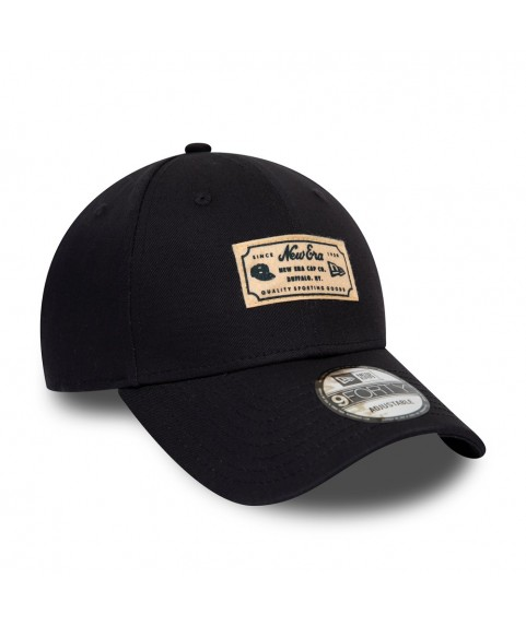 NEW ERA HERITAGE PATCH NAVY 9FORTY CAP