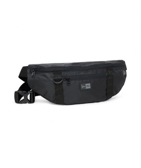 New Era Light Black Waist Bag 11942019
