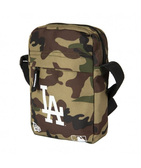 New Era LA Dodgers Woodland Camo Side Bag 11942031