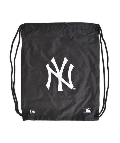 New Era MLB Gym Sack New York Yankees Black 11942038
