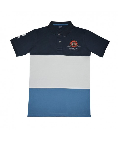 Μπλούζα Polo ''New World Polo'' Navy 12064-02