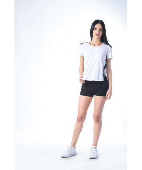 """Μπλούζα Paco & Co """"Strip"""" Λευκό 201644-02"""