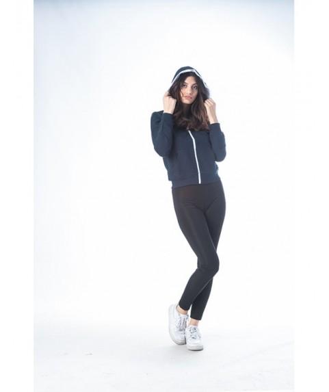 Hoodie Jacket Paco&Co ''Fluo ZIP'' Navy 201666-03