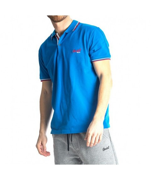 Paco & Co Men's T-shirt Polo Blue