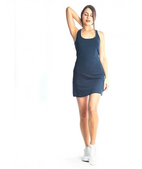 Φόρεμα Paco & Co ''Short Tank Dress Y-Back'' Navy 86102-03