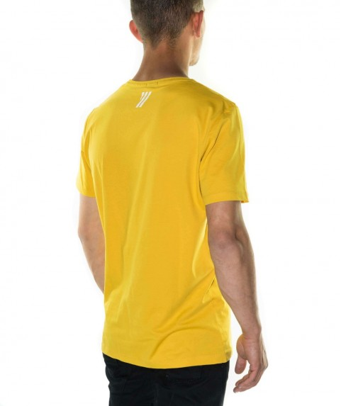 Paco & Co Men's T-shirt Superior Yellow