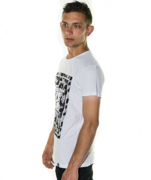 Paco & Co Men's T-shirt Seperate White
