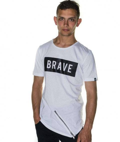 Paco & Co Men's T-shirt Brave White 85105-01