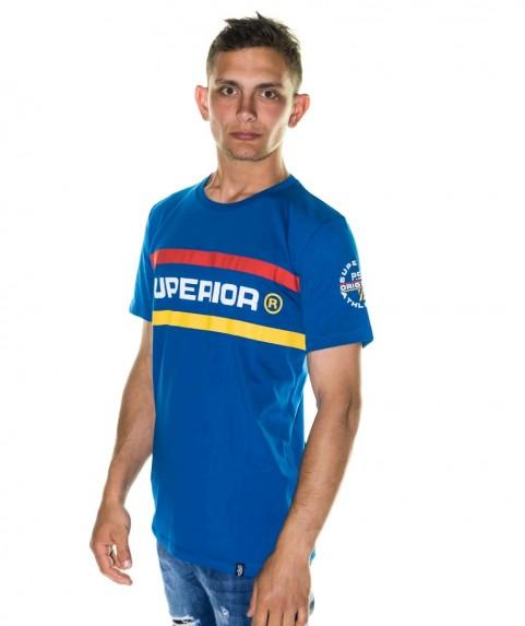 Paco & Co Men's T-shirt Superior Blue