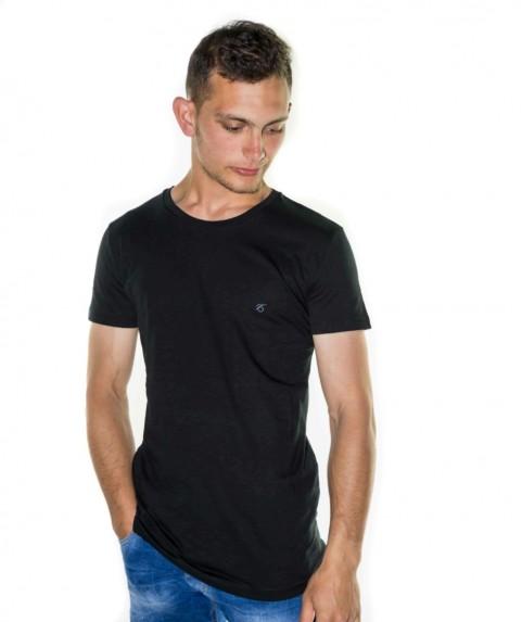 Paco & Co Men's T-shirt Crew Nek Black