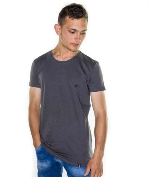 Paco & Co Men's T-shirt Crew Nek Grey